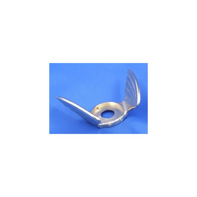Malá letící křídla pod teploměr chladiče