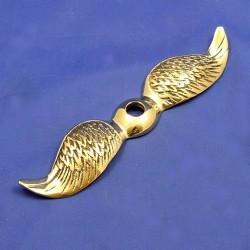 Rovná letící křídla mosazná